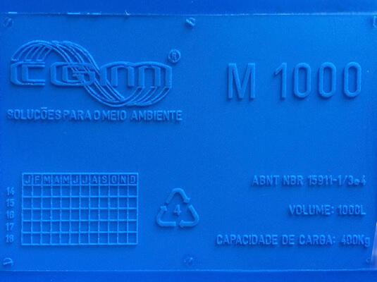Marcação conforme exigência NBR 15.911-3.