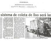 IMPLANTAÇÃO DA COLETA MECANIZADA EM FRANCA